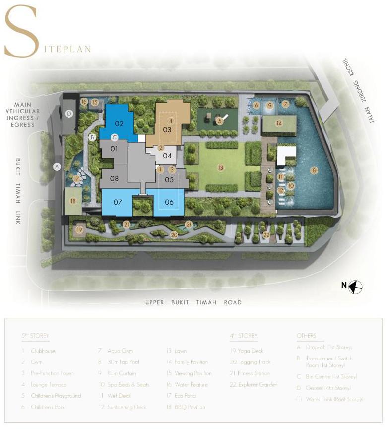 Linq @ Beauty World Site Plan