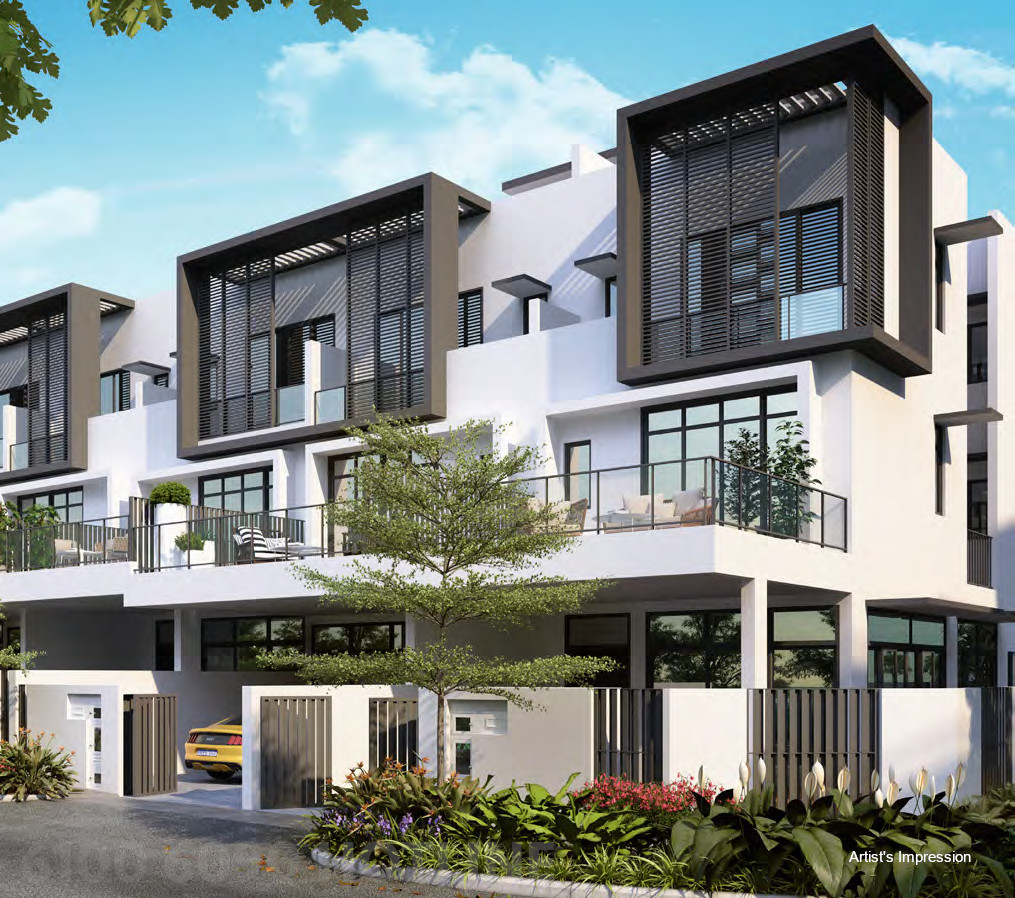 Luxus Hills Terrace Houses . Contemporary Collection Launch