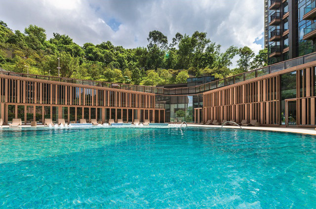Mantin Heights in Hong Kong by Kerry Properties
