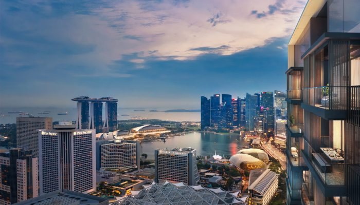 Midtown Bay Singapore . Marina Bay View