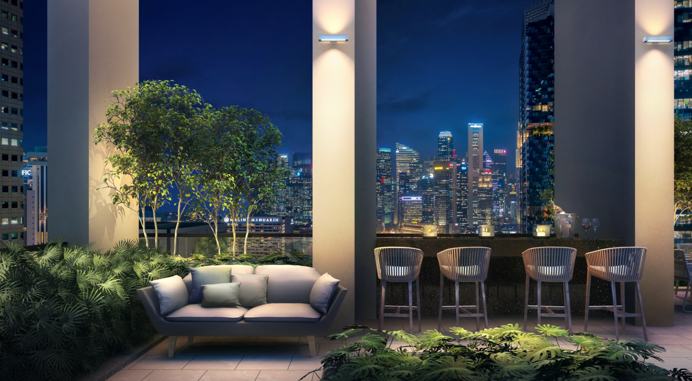 Sky Terrace at Level 25