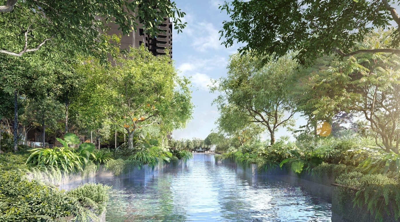 Midtown Modern Condominium . Estuary Pool