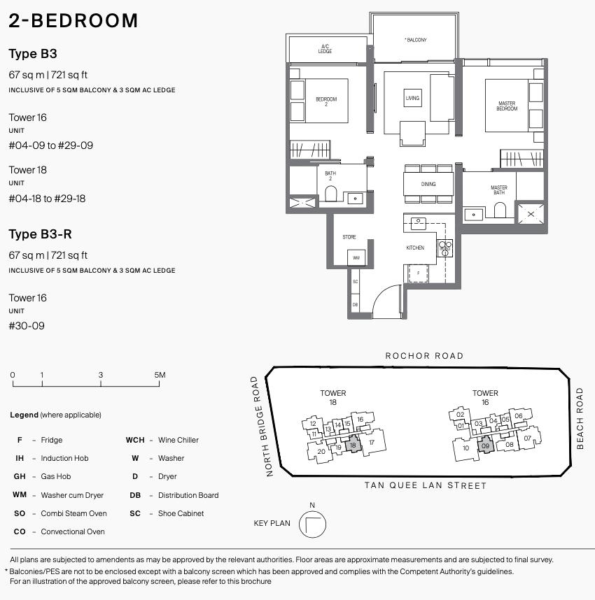 Midtown Modern Floor Plans . 2 Bedroom Type B3