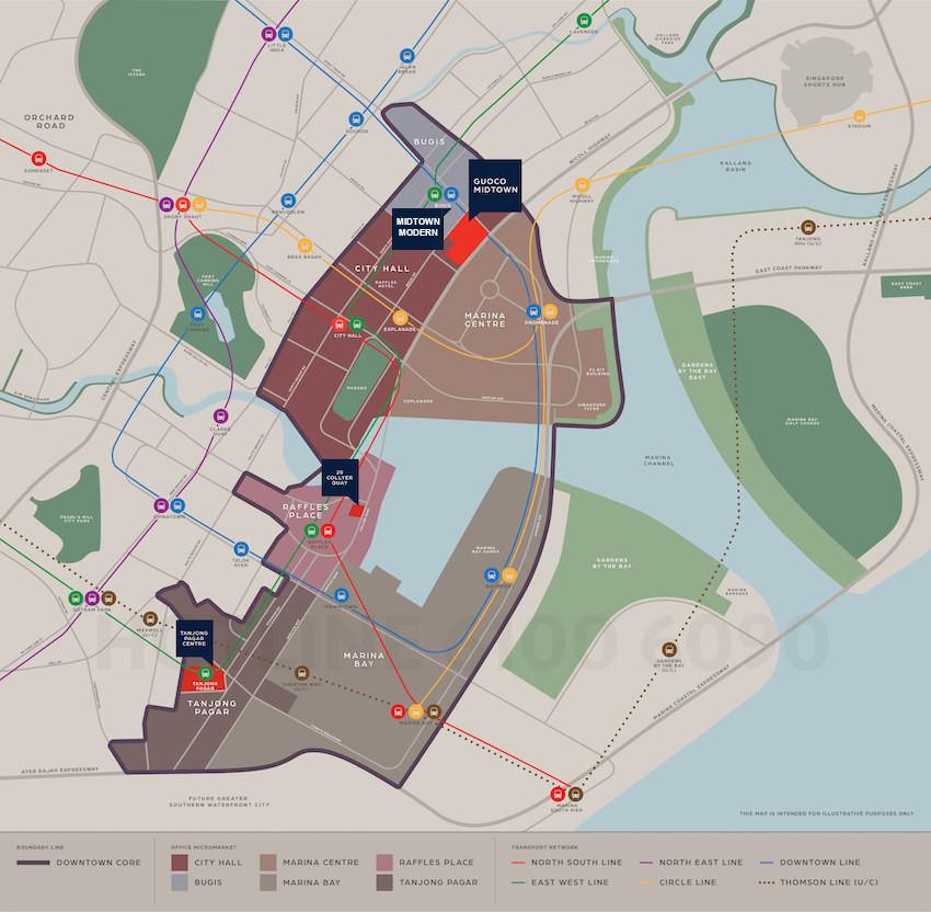 Midtown Modern Location Plan