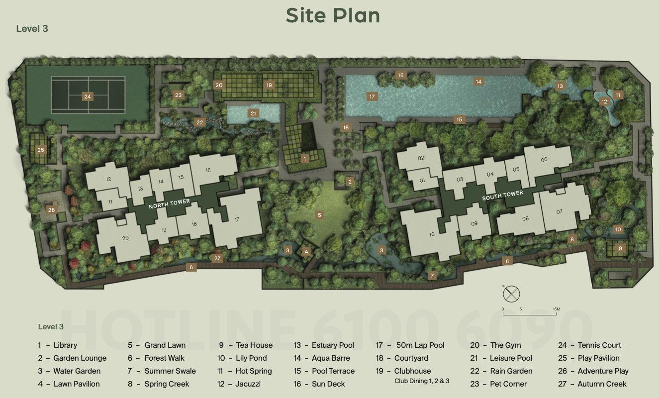 Midtown Modern Site Plan . E-Deck