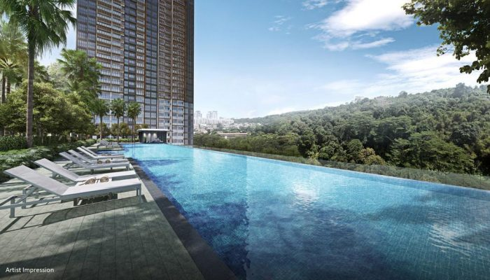 Midwood Condominium . 50m Infinity Pool