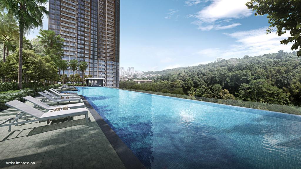 The 50m Infinity Pool