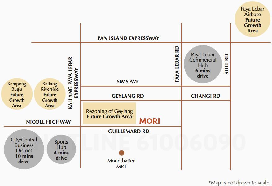 Mori Condo Location . Surrounding Growth Areas