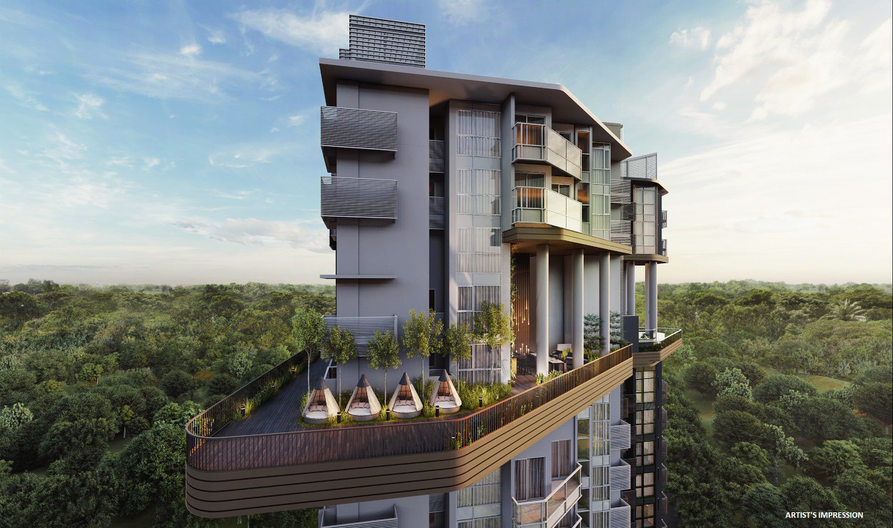 Neu Condo Singapore . 14th Storey Sky Terrace & Sanctuary