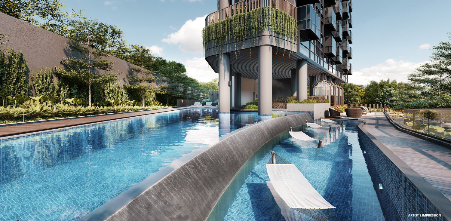 Neu on Novena Condo . Hammock Pool