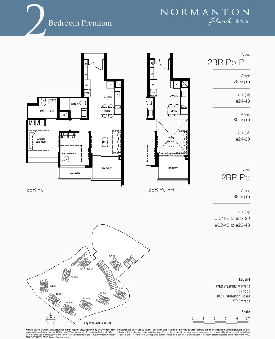 Normanton Park Floor Plans . Showflat 2BR Premium