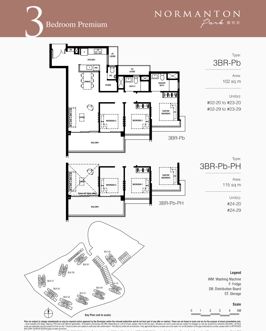 Normanton Park Showflat . 3BR Premium Floor Plan
