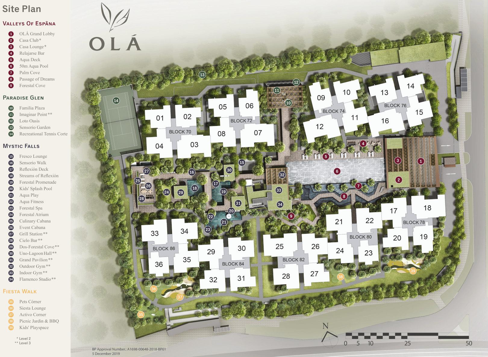 Ola EC Site Plan