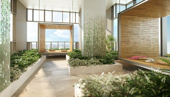 One Bernam Singapore . Sky Terrace