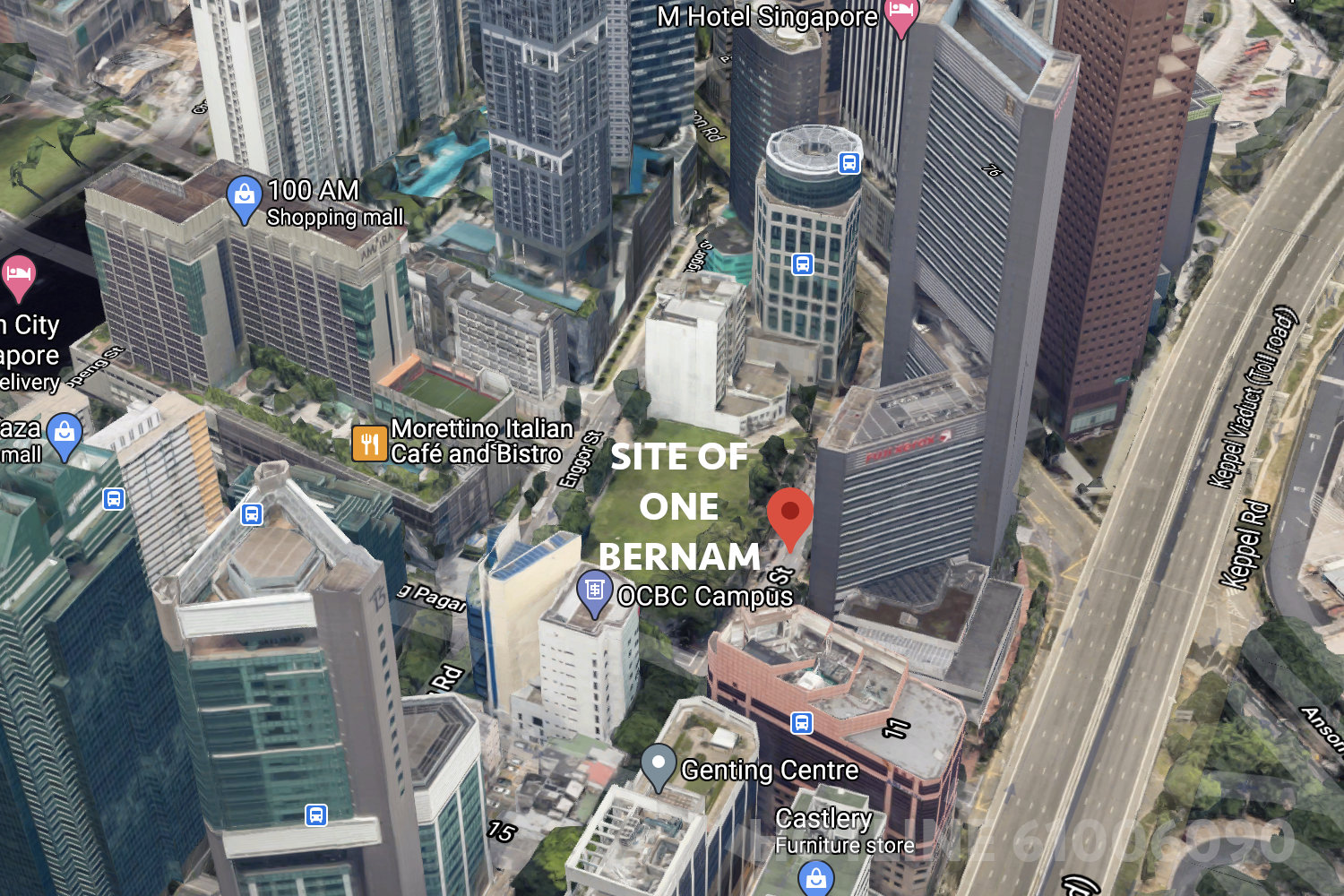 One Bernam Site Location View