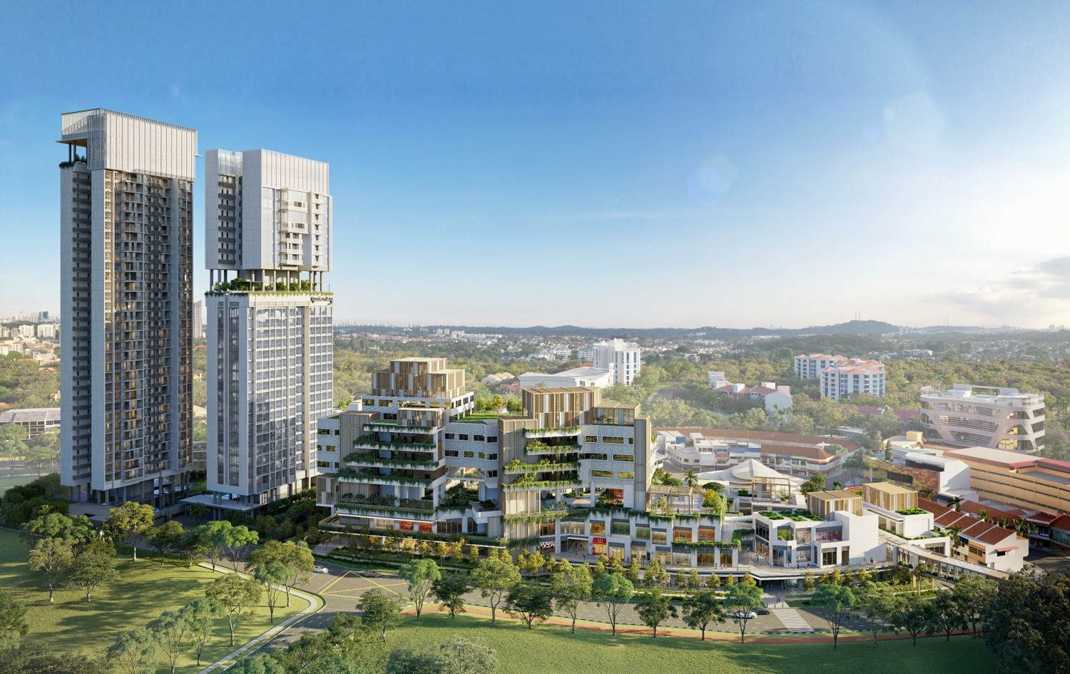 One Holland Village Development . Condo + Commercial