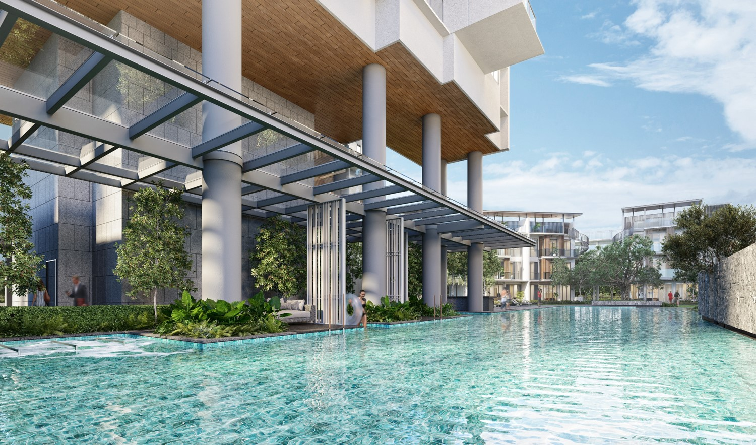One Holland Village Residences . 50M Lap Pool
