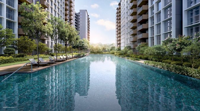 Parc Greenwich Executive Condo . 50M Oasis Pool