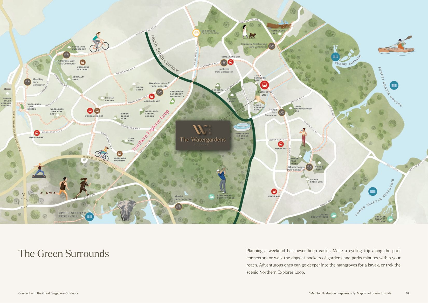 Parks and Recreational Facilities Nearby