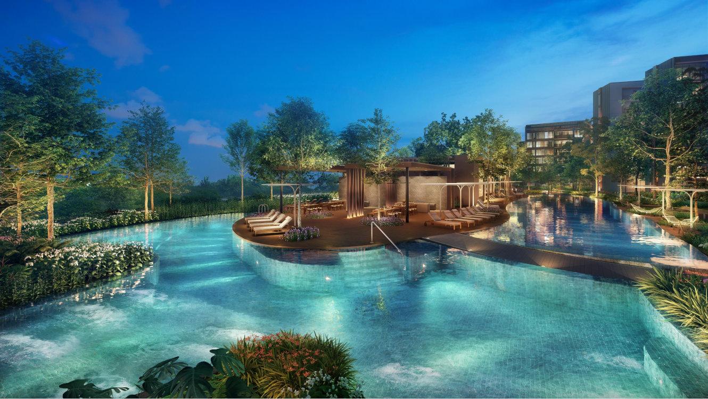 Artist's Impression . Pasir Ris 8 Condominium with Facilities