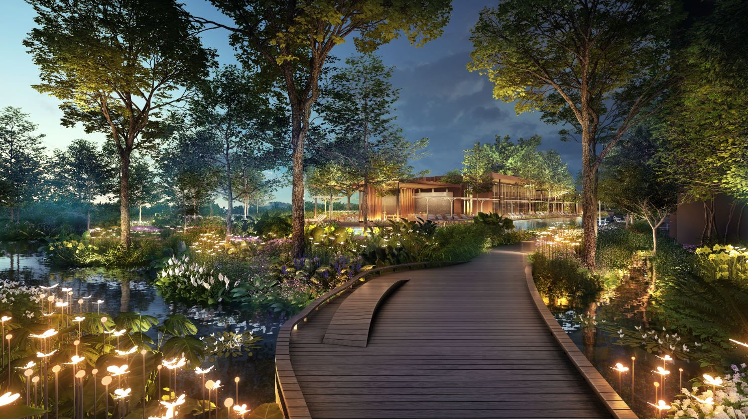 Artist's Impression . Pasir Ris 8 Condo Landscaping and Facilities
