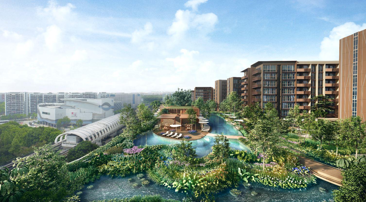 Artist's Impression . Pasir Ris 8 Condominium Facilities