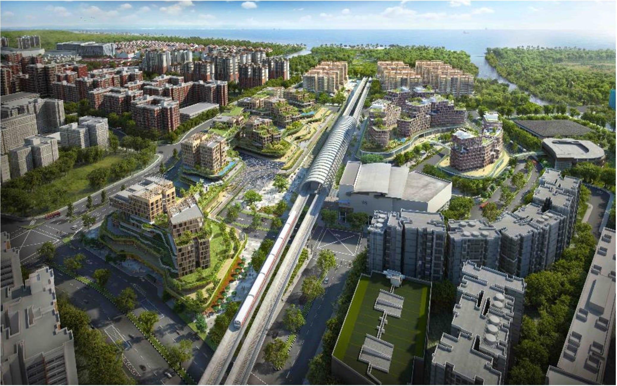 Pasir Ris 8 Singapore . Mixed Development at Pasir Ris Central
