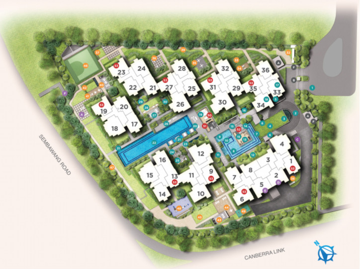 Provence Residence Site Plan . Draft