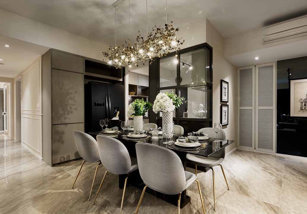 Provence Residences Showflat . Dining Area