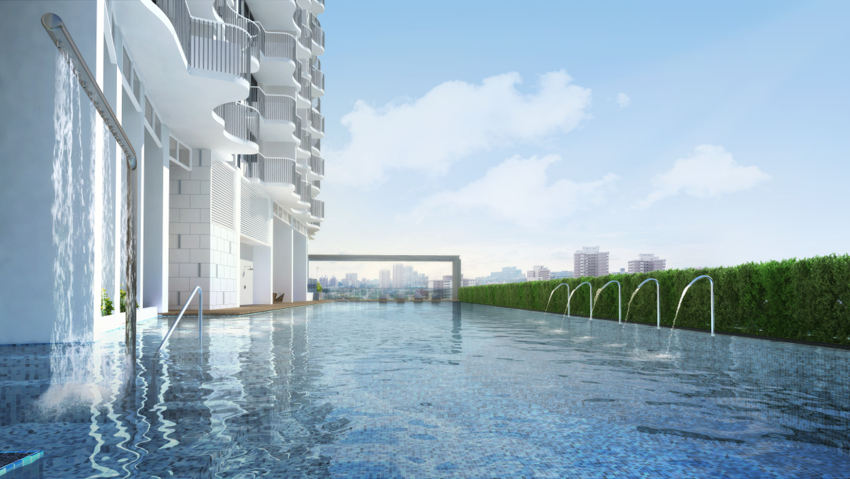 Queens Peak Pool . By Hao Yuan & MCC Land