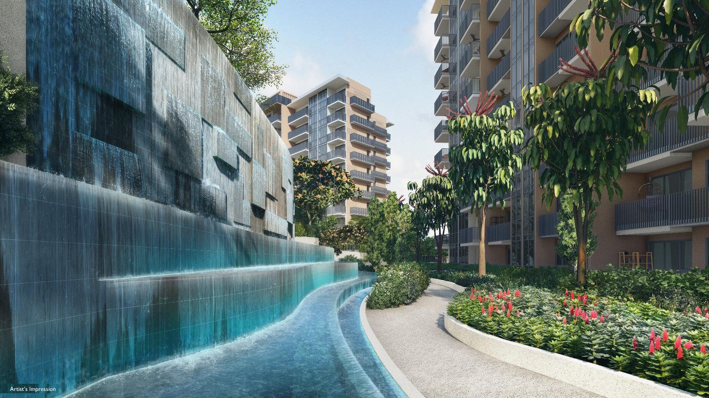 Sengkang Grand Residences . Water Feature