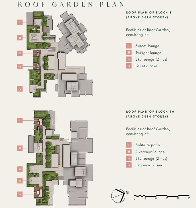 Roof Garden Plan