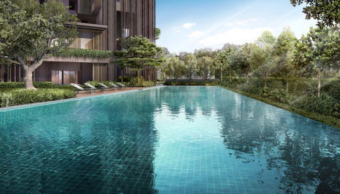 The Avenir Condominium 50M Lap Pool