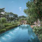 The Avenir Condominium . Hydrotherapy Pool