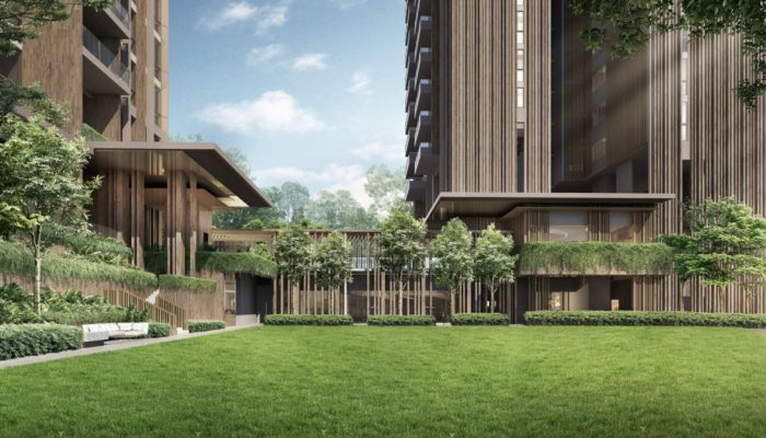 The Avenir by Guocoland & Hong Leong . Great Lawn