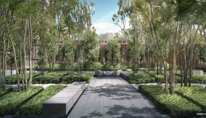 The Avenir Singapore . Tranquility Garden