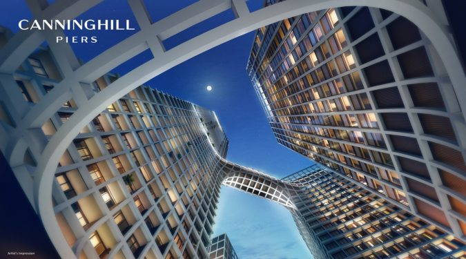 Artist's Impression . The Canninghill Piers Towers