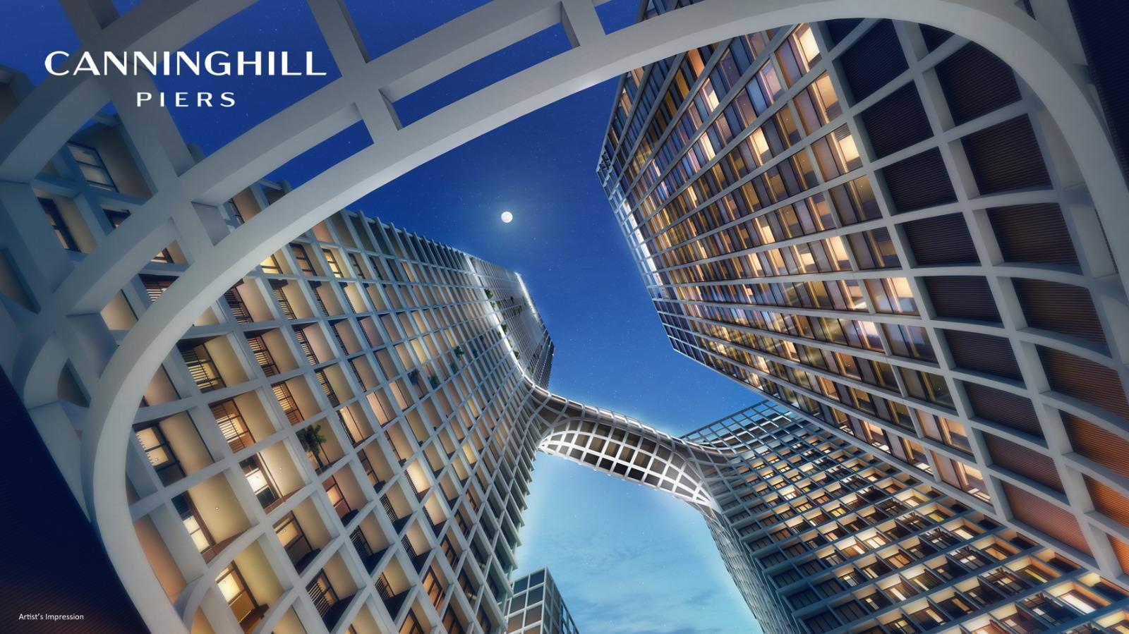 Artist's Impression . Condominium + Hotel + Serviced Residences Towers
