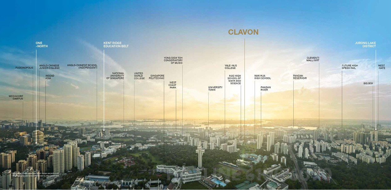 The Clavon Condo View . Nearby Institutions & Amenities