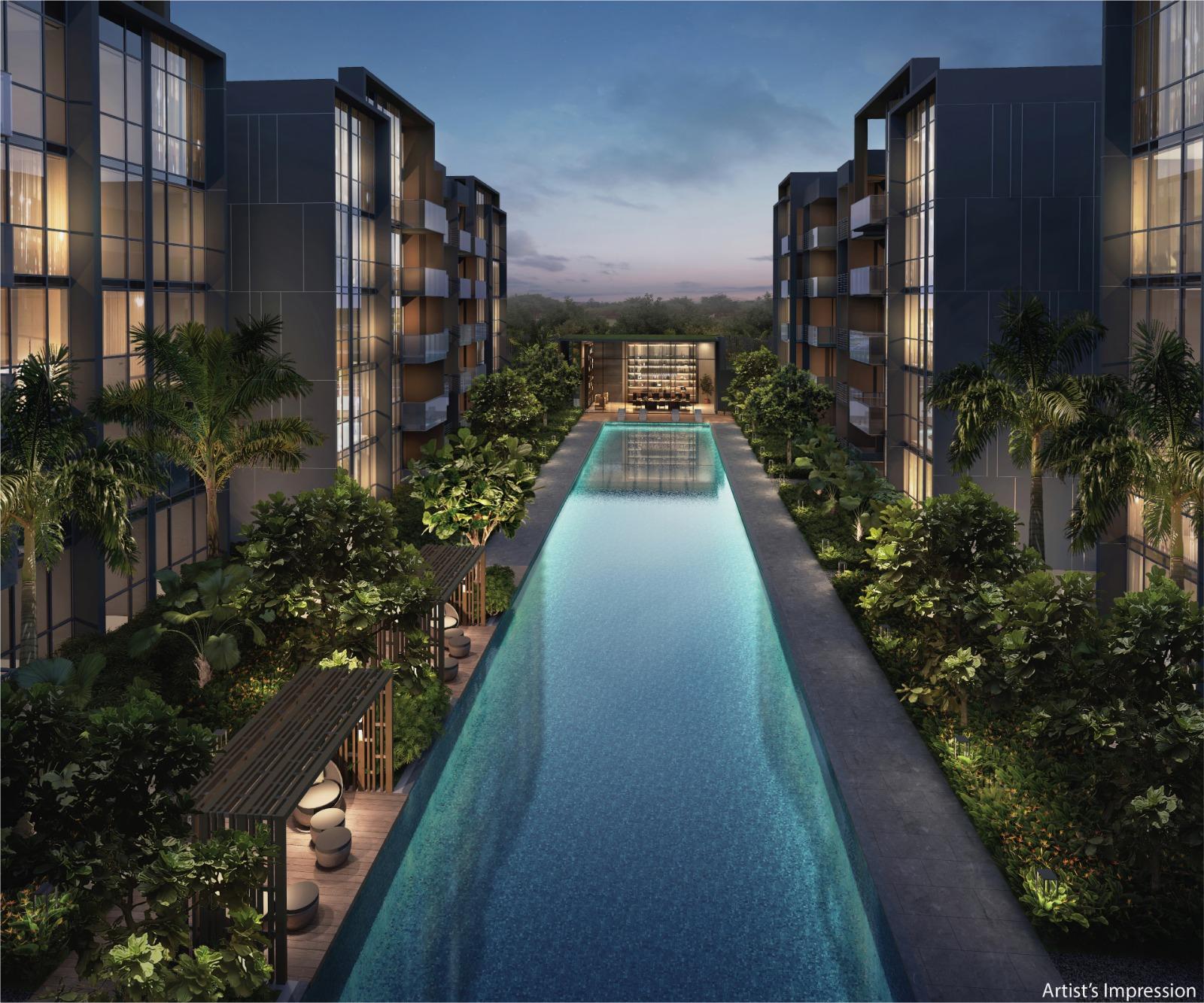 The Commodore Condominium . Main Pool