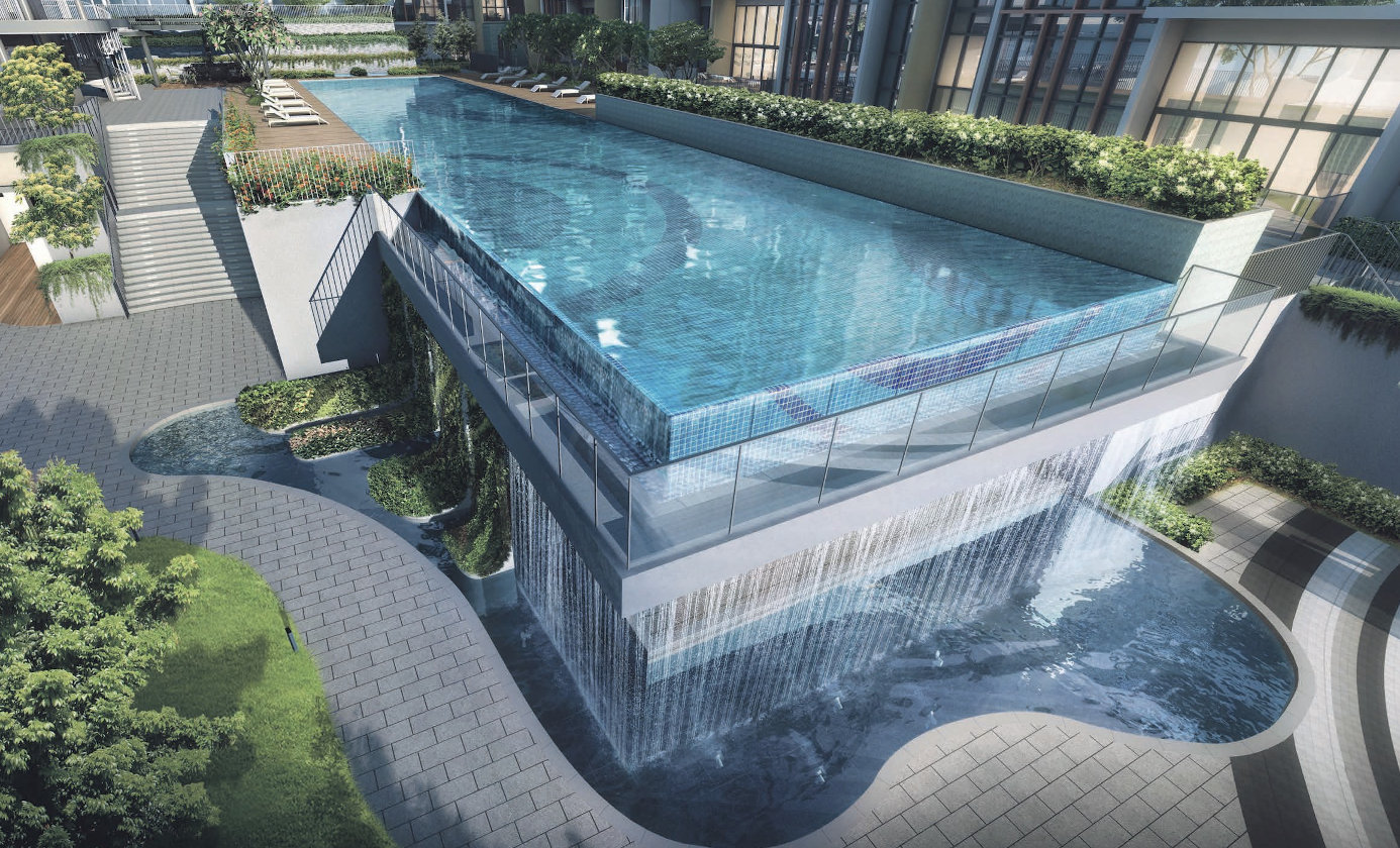 The Gazania Condo Lap Pool