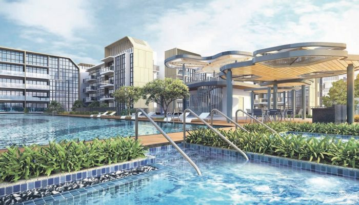 The Gazania Condo . Pools and Clubhouse