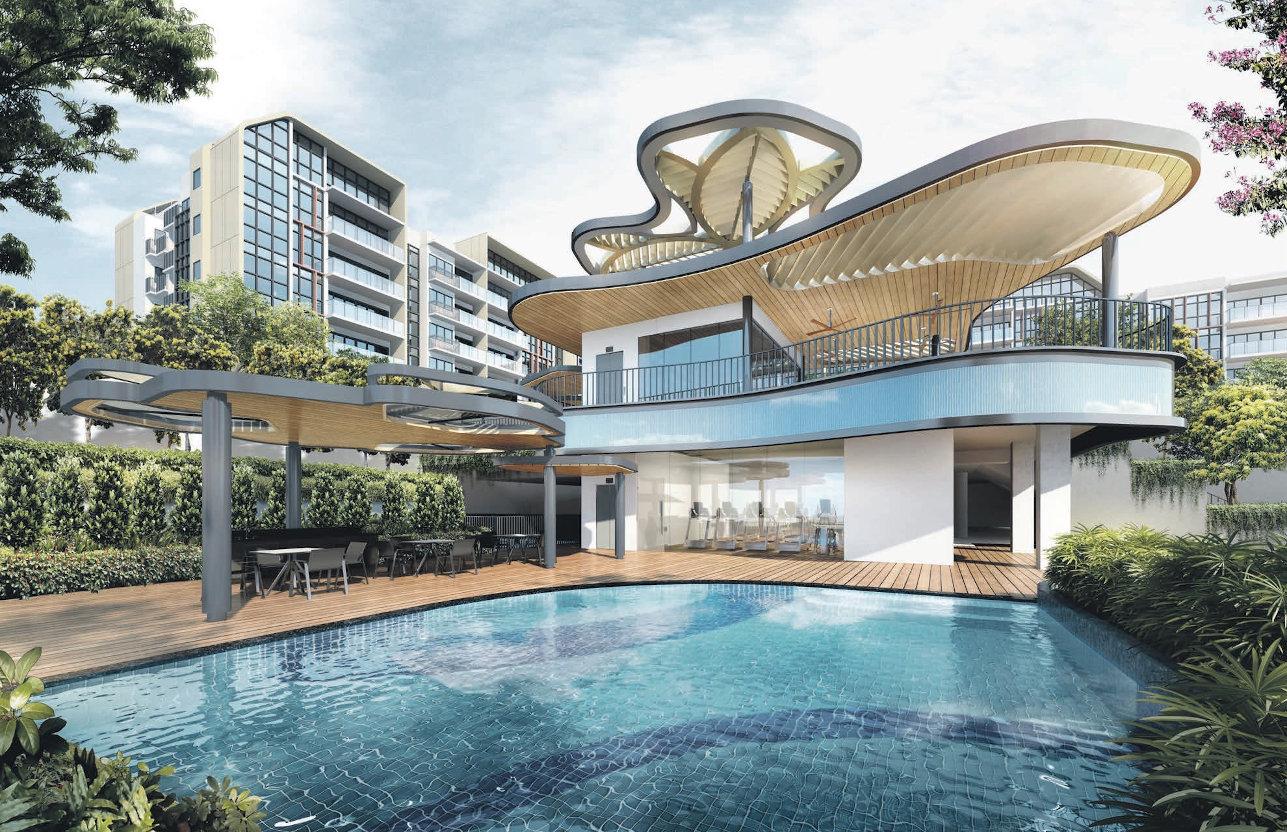 The Gazania Condominium . Clubhouse