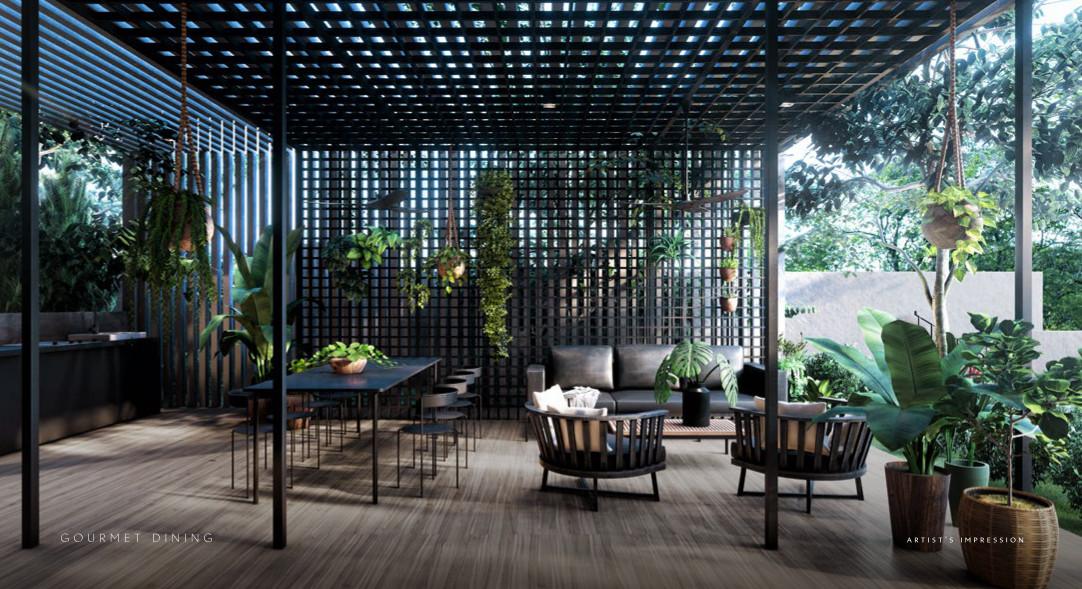 The Iveria Condo . Gourmet Dining Pavilion