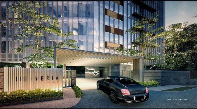 The Iveria Condominium . Main Entrance