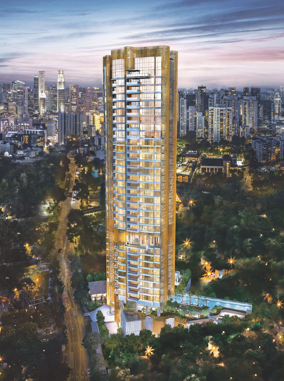 The Klimt Cairnhill Condo off Orchard Road