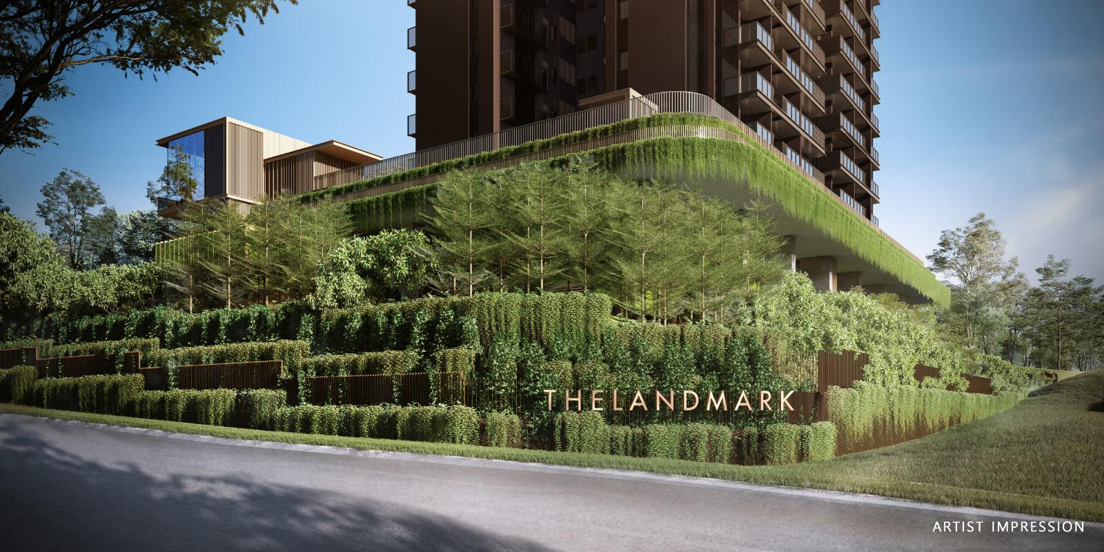 The Landmark Condo beside Pearl's Hill