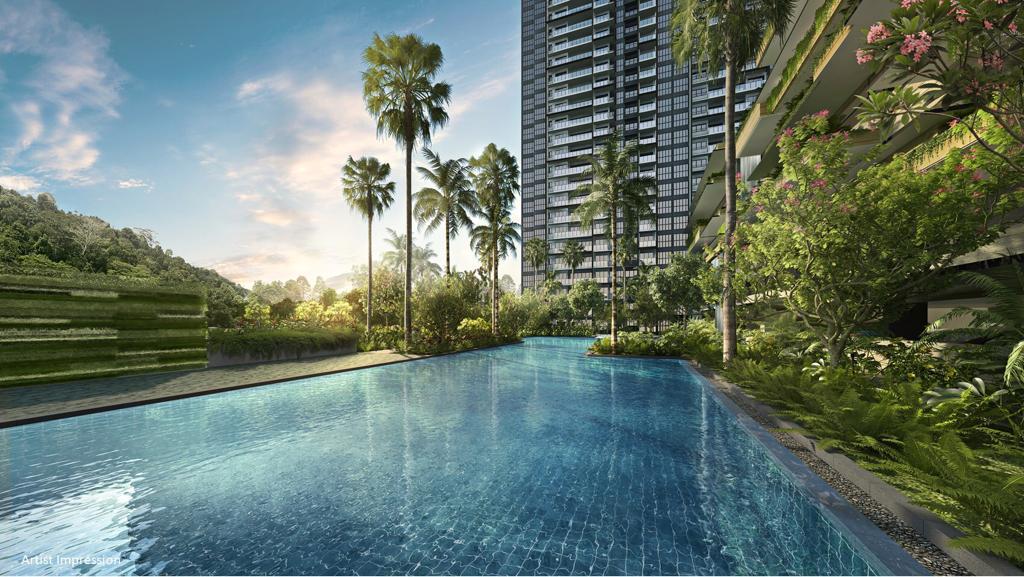 The Midwood Condominium . Pool