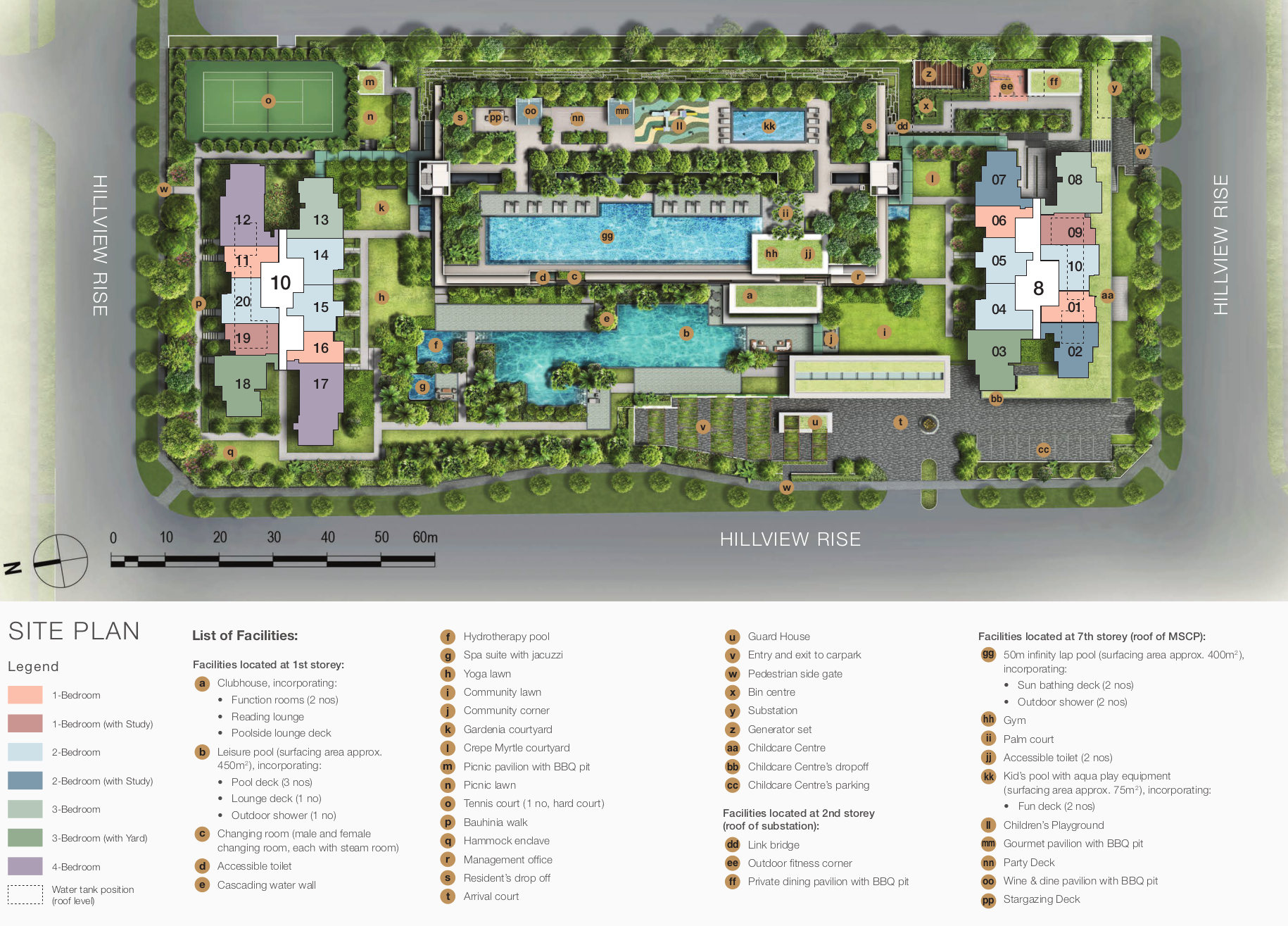 The Midwood Site Plan Layout