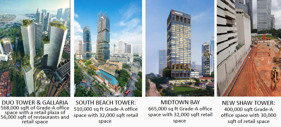 The Ophir Rochor South Beach Developments